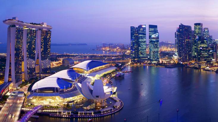 Los taxis sin conductor circulan por las calles de Singapur