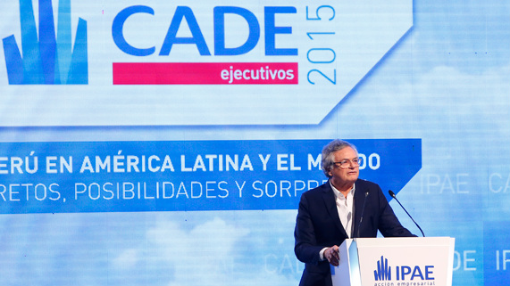 """Moisés Naím: """"El Perú está bien posicionado"""" para afrontar la desaceleración"""
