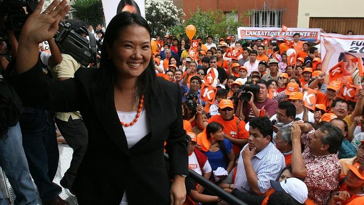 La carrera política de Keiko Fujimori