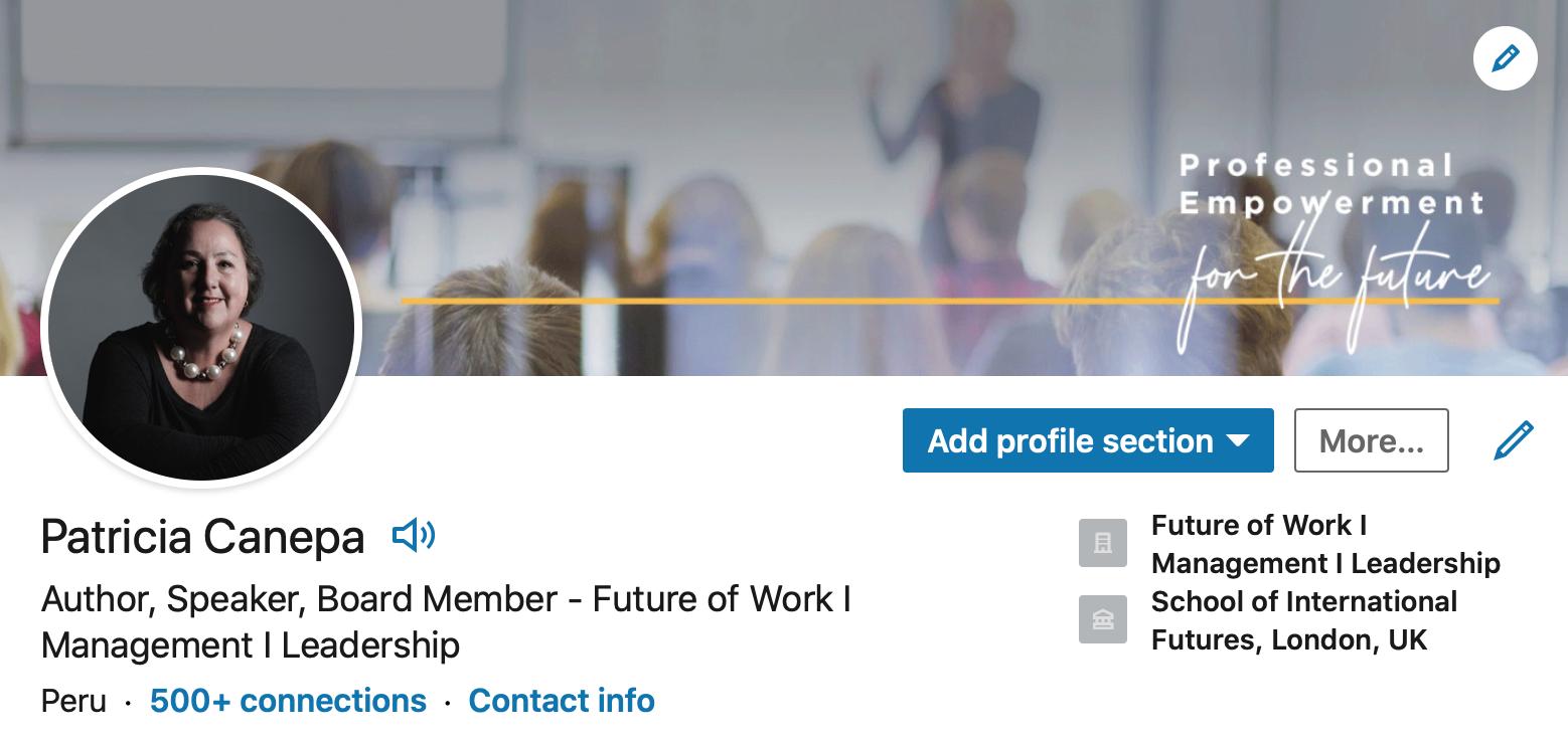 Más requerimientos para puestos remotos: novedades en LinkedIn 7 |  Patricia Cánepa | 27 septiembre, 2020 | LHH DBM Perú