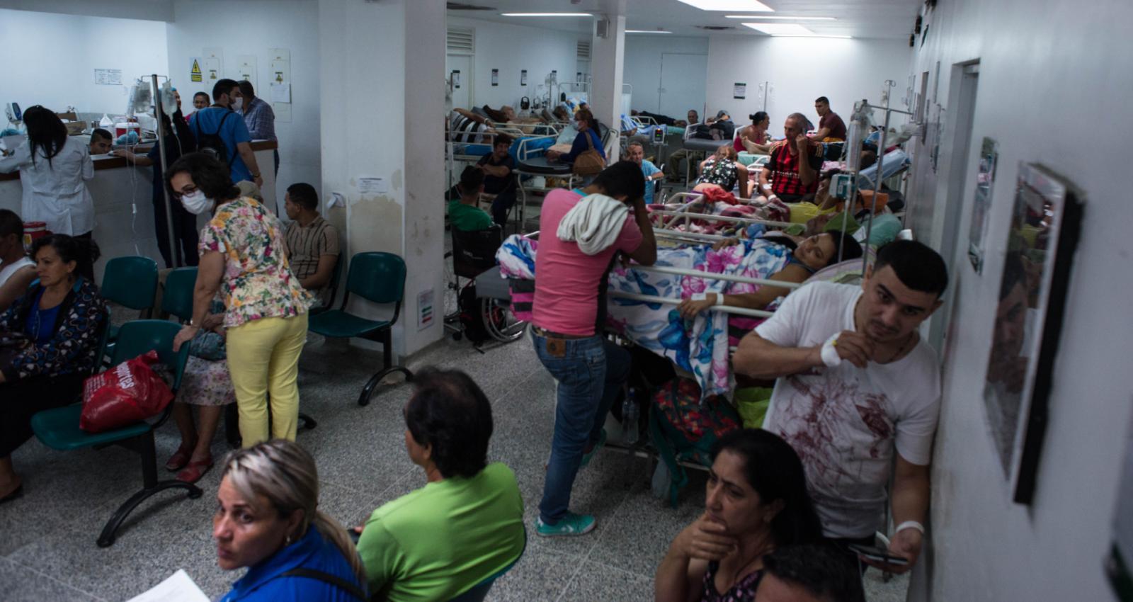 Gobierno destina 20.000 millones de pesos a la atención médica de migrantes venezolanos