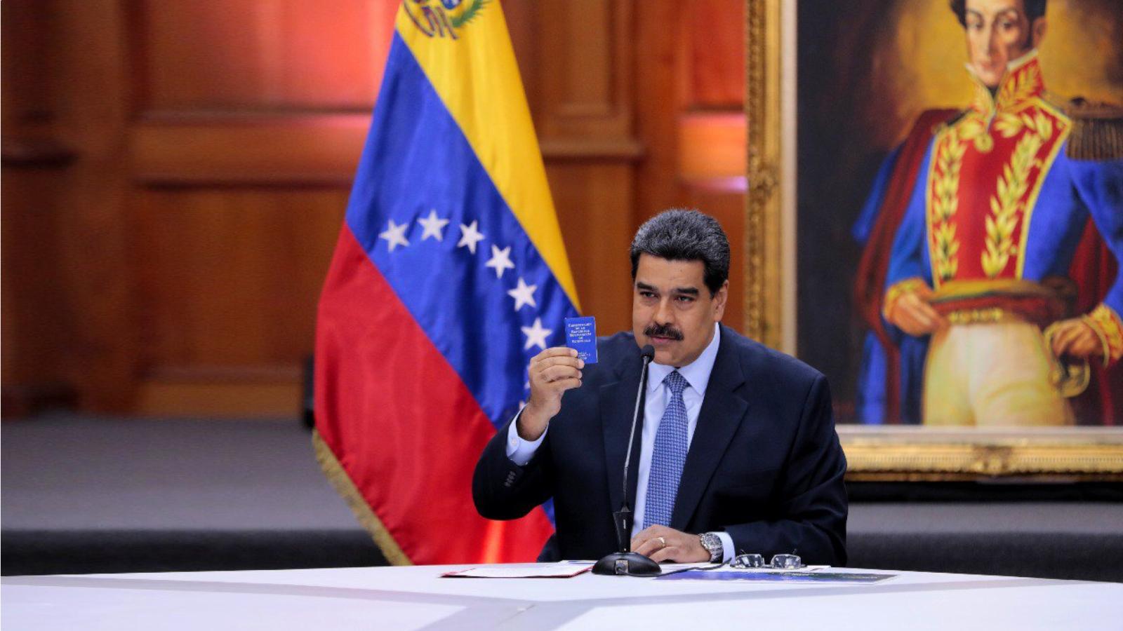 Nicolás Maduro se posesiona para un nuevo mandato presidencial