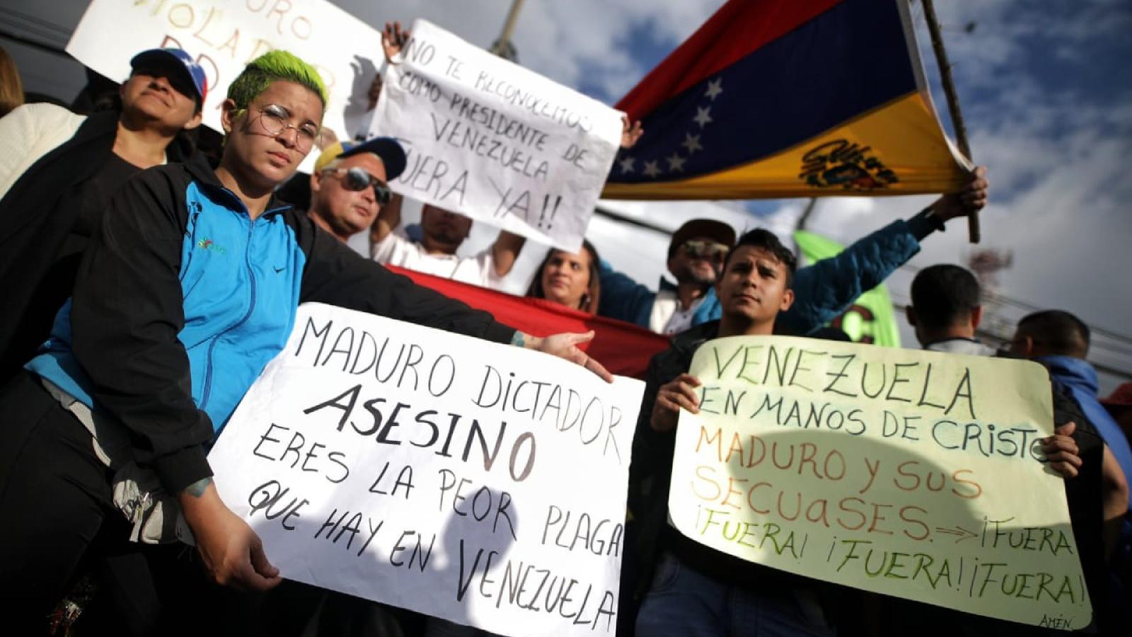 Objetivo, frenar a Maduro: las voces de venezolanos migrantes y exiliados en Colombia