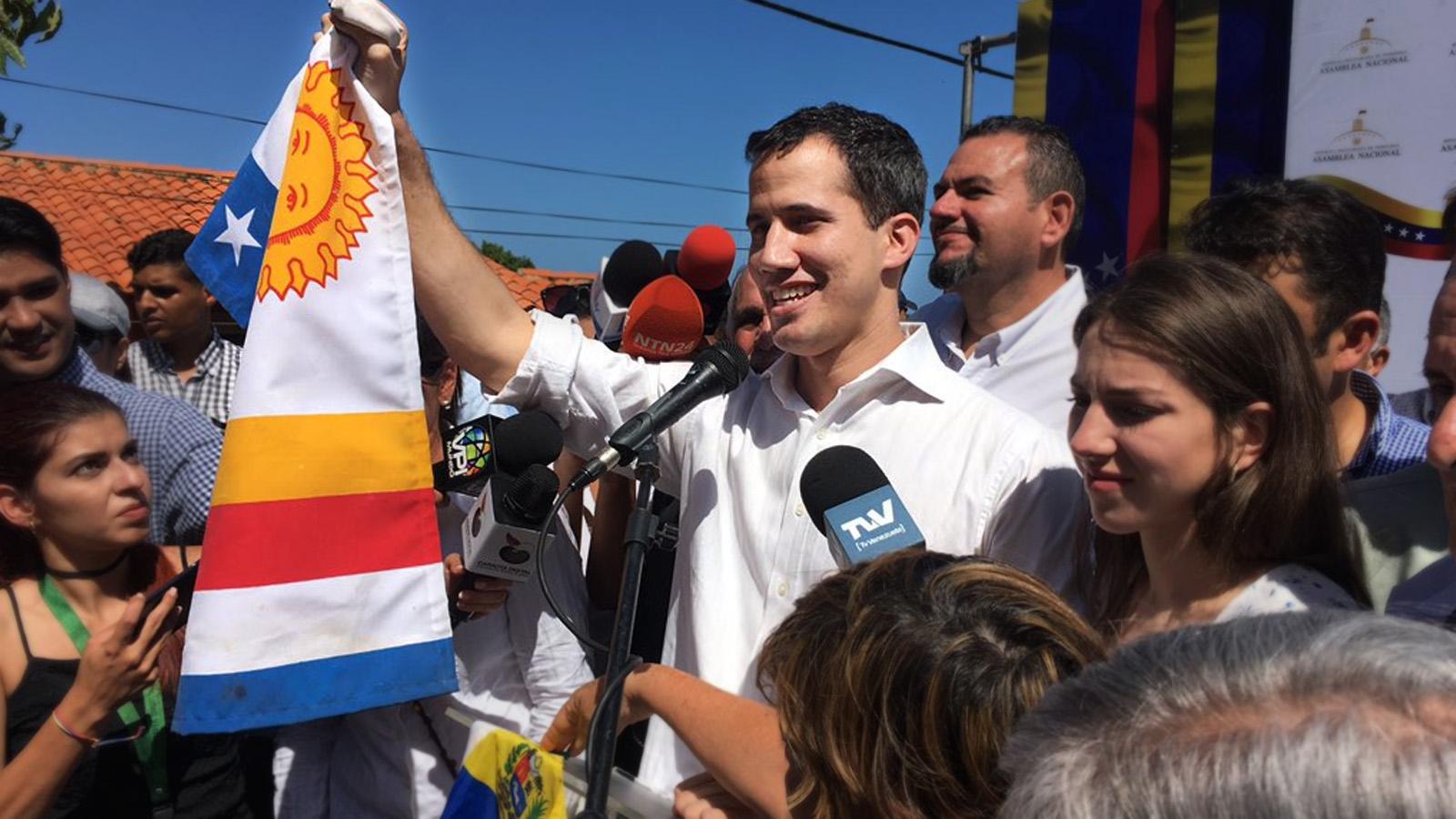 Juan Guaidó fue detenido durante una hora por el Sebin