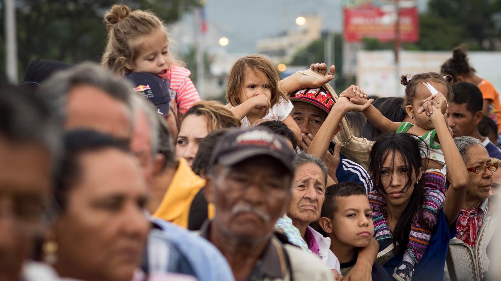 Alemania financia ayuda humanitaria para venezolanos en Colombia y Ecuador