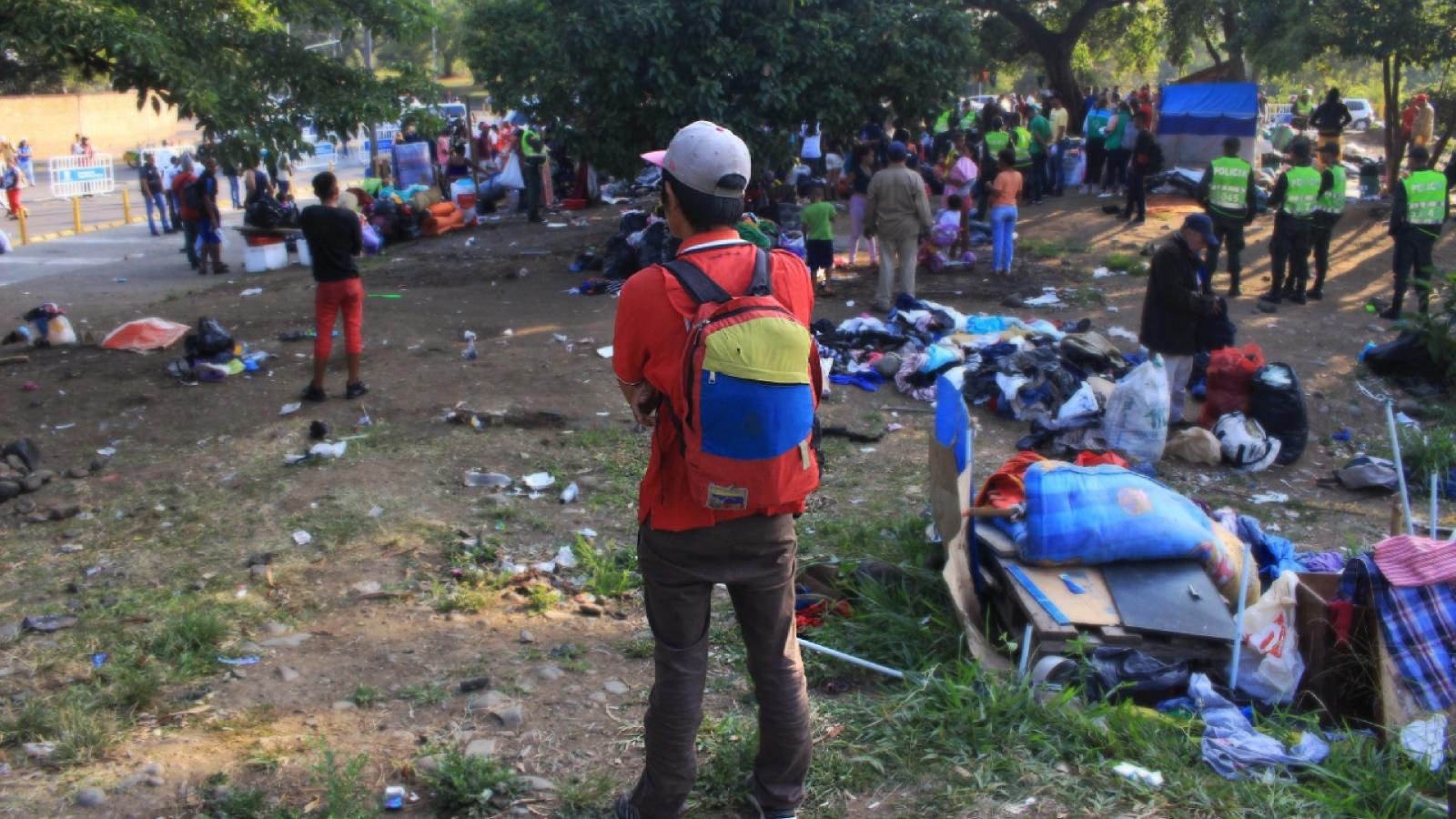 Del tránsito al asentamiento: la lucha de los venezolanos en Cali