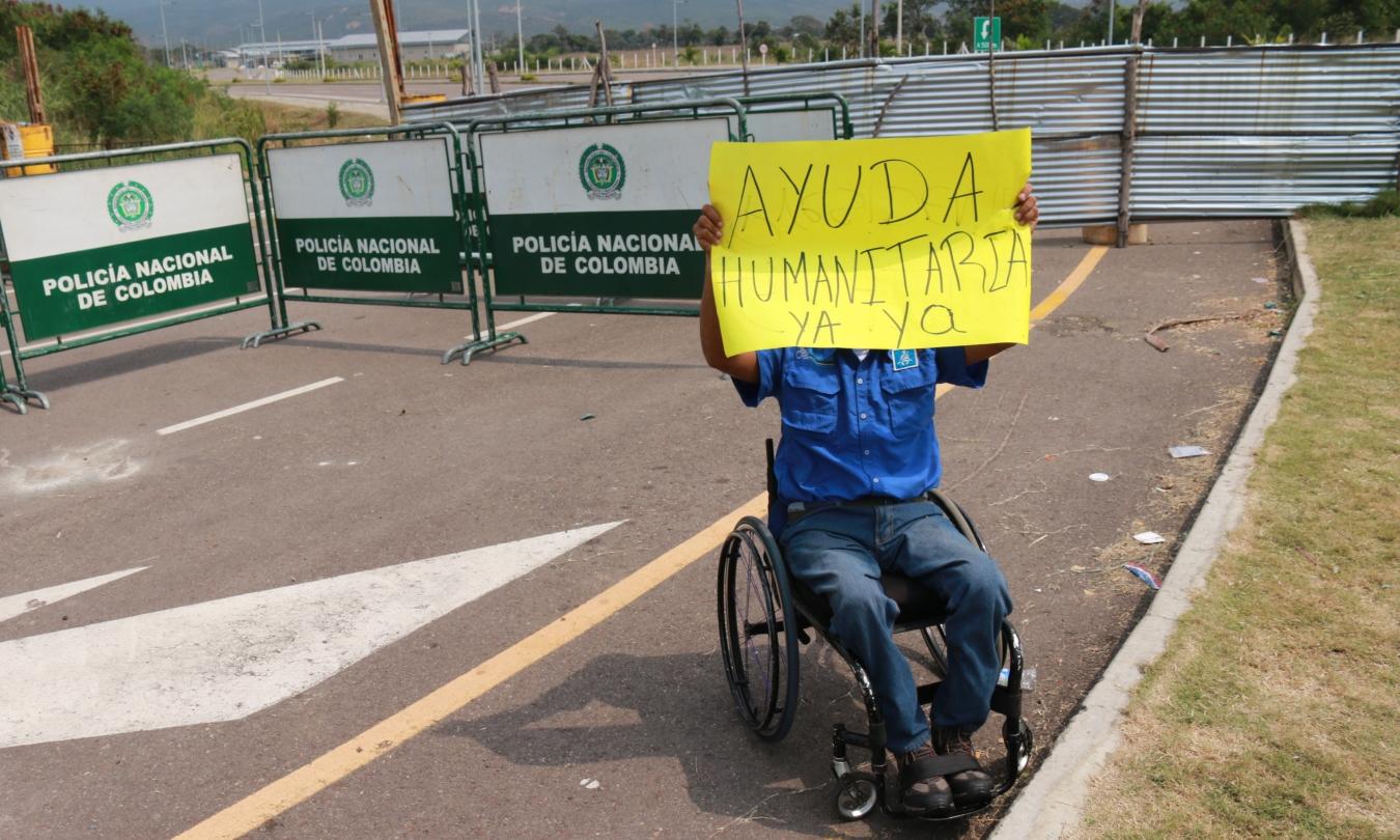 """""""Hay que mantener la ayuda humanitaria separada de la política en Venezuela"""""""