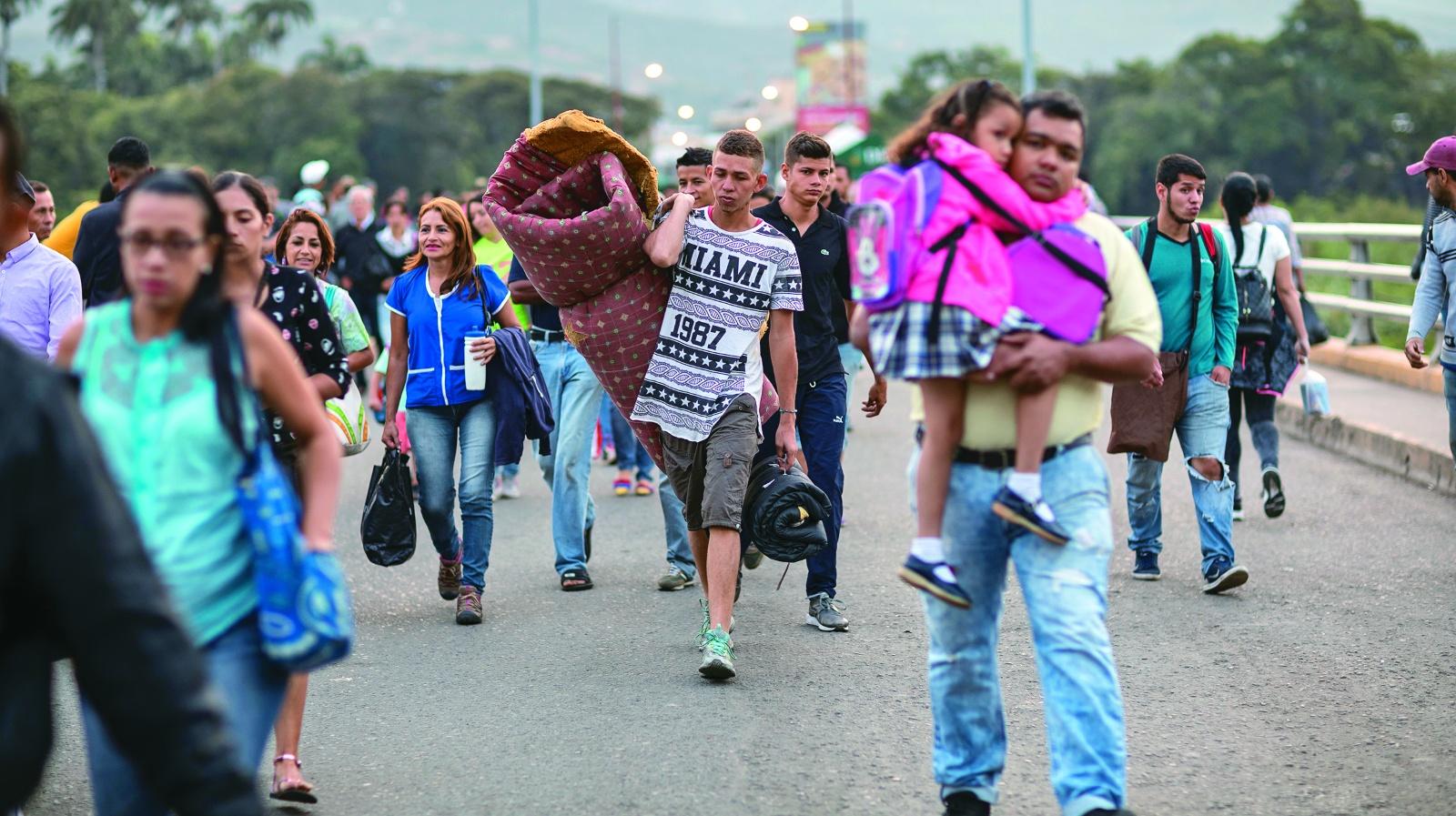 ¿Qué opinan los colombianos sobre la migración venezolana?