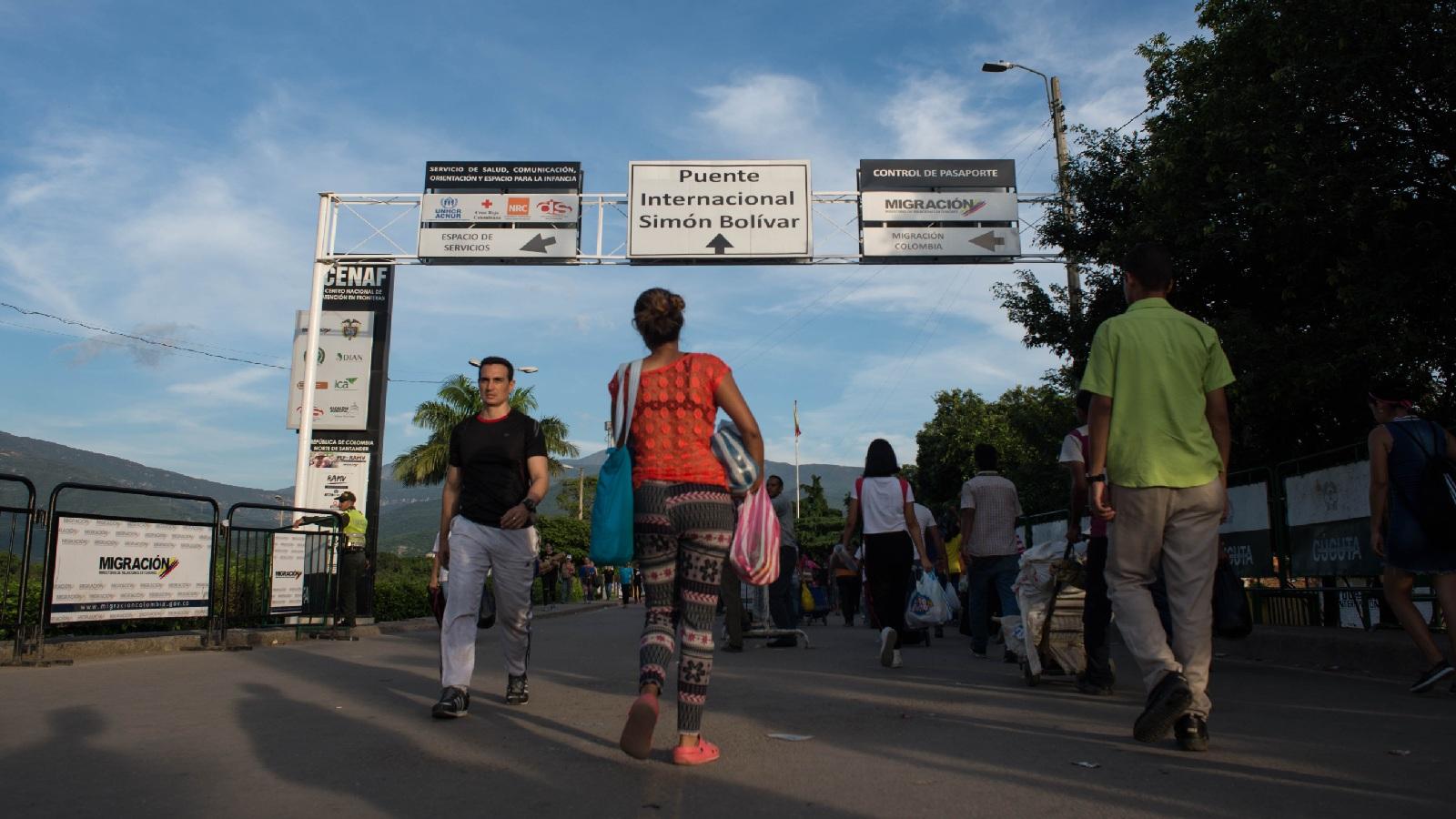 ONU atendió a más de 450 mil venezolanos en Colombia durante 2018
