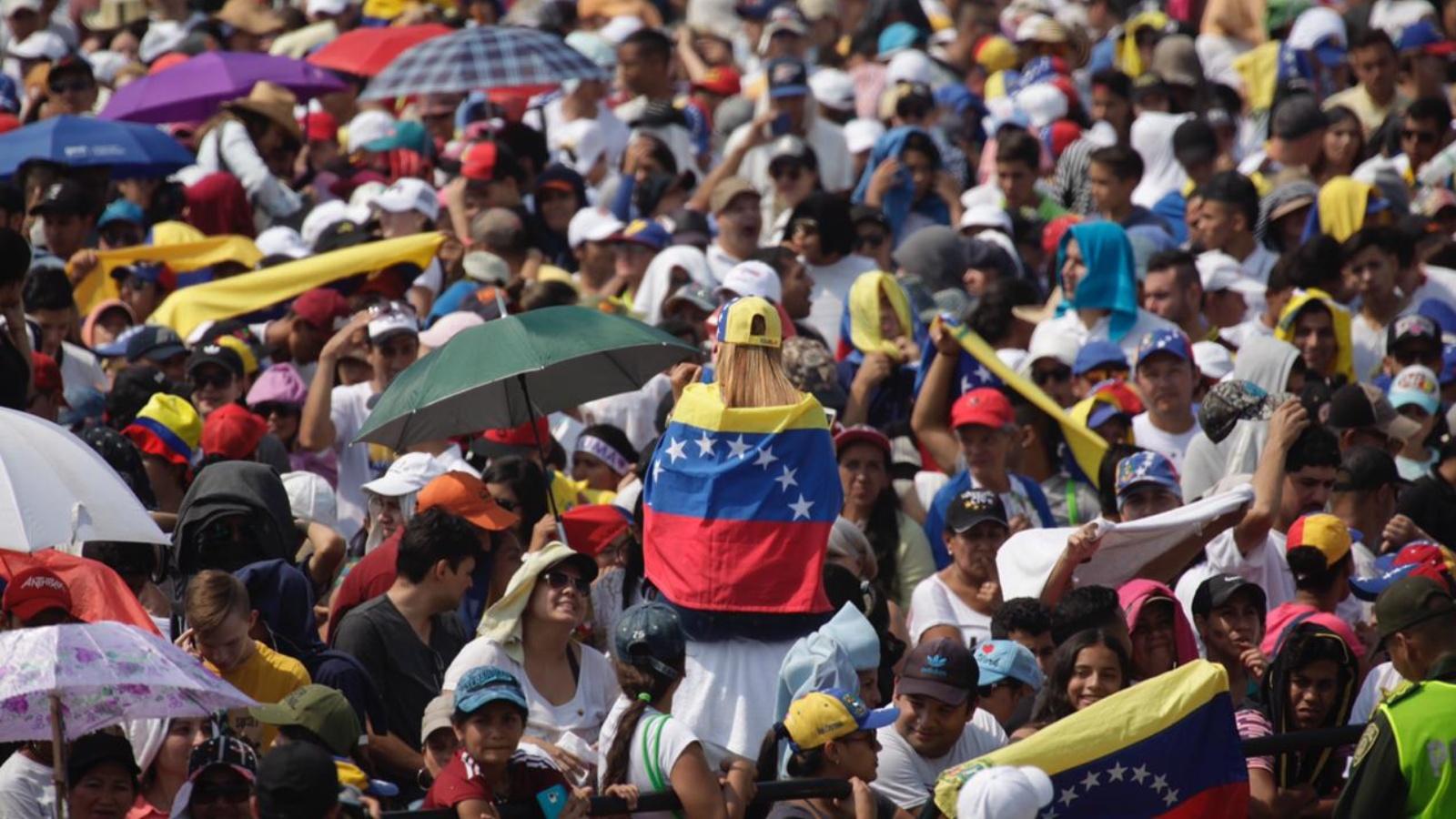 El 'Venezuela Aid Live' no ha llegado ni al 3% de su meta de recaudo