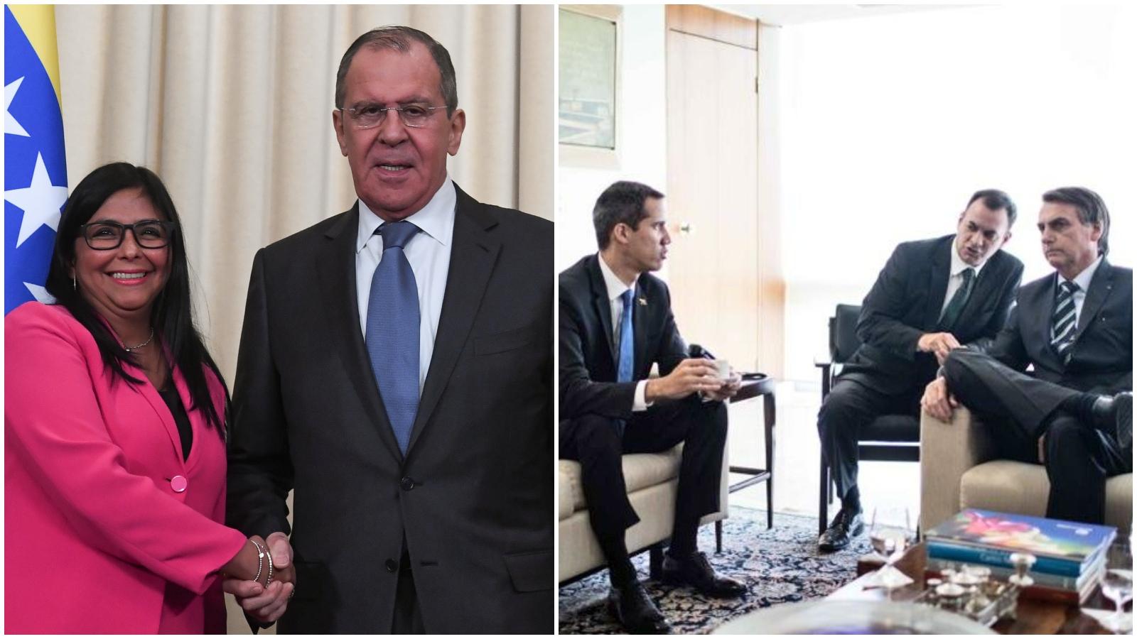 La batalla del oficialismo y la oposición por buscar respaldo internacional