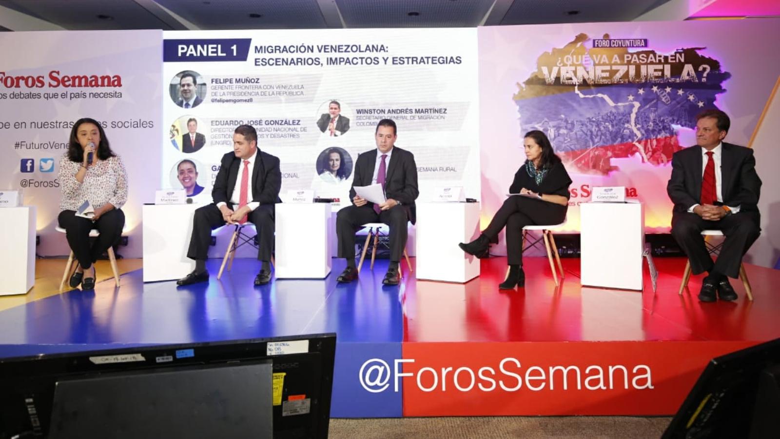 Foros Semana analizó la situación de Venezuela