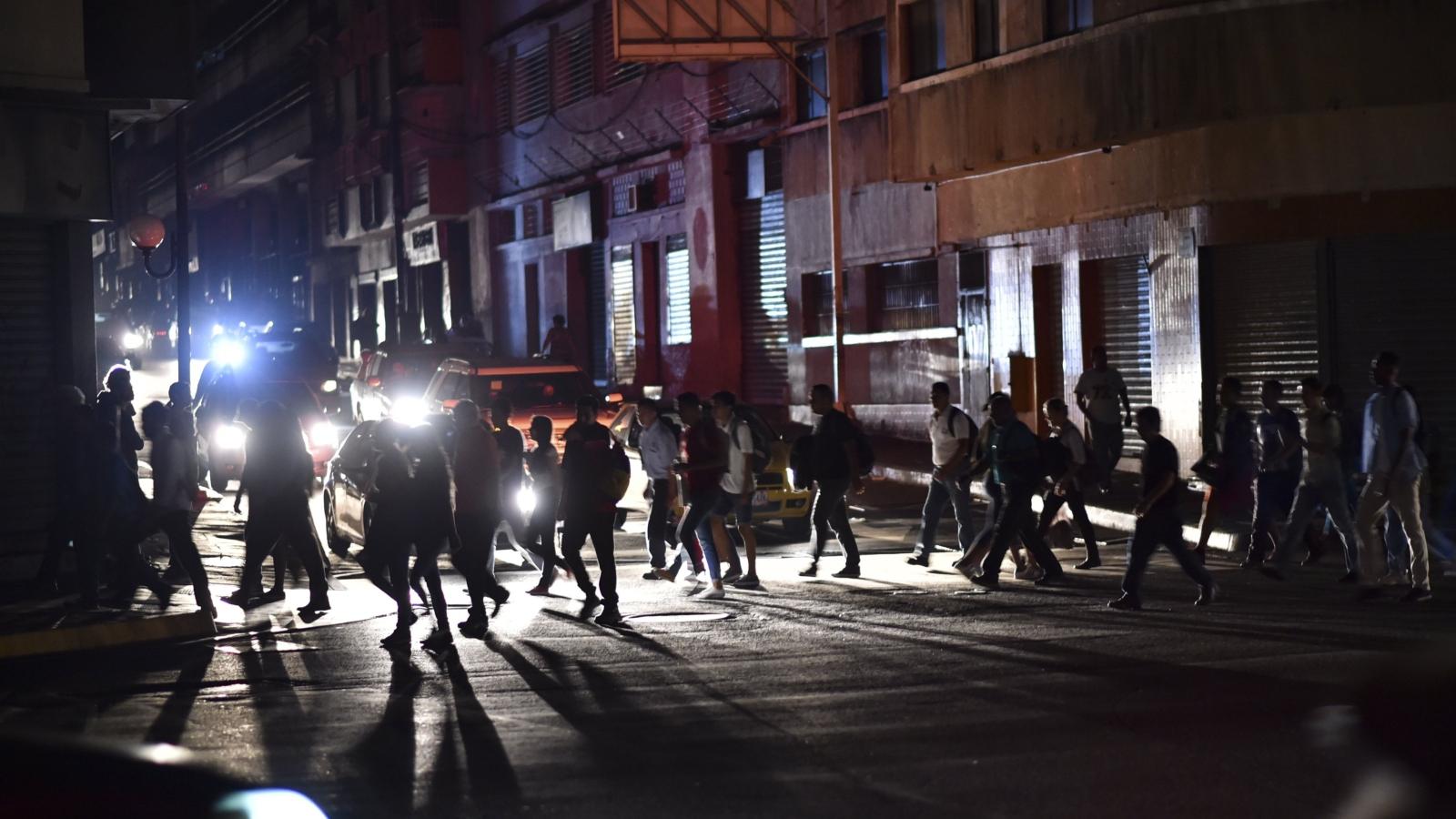 Venezuela: paralizada por apagón