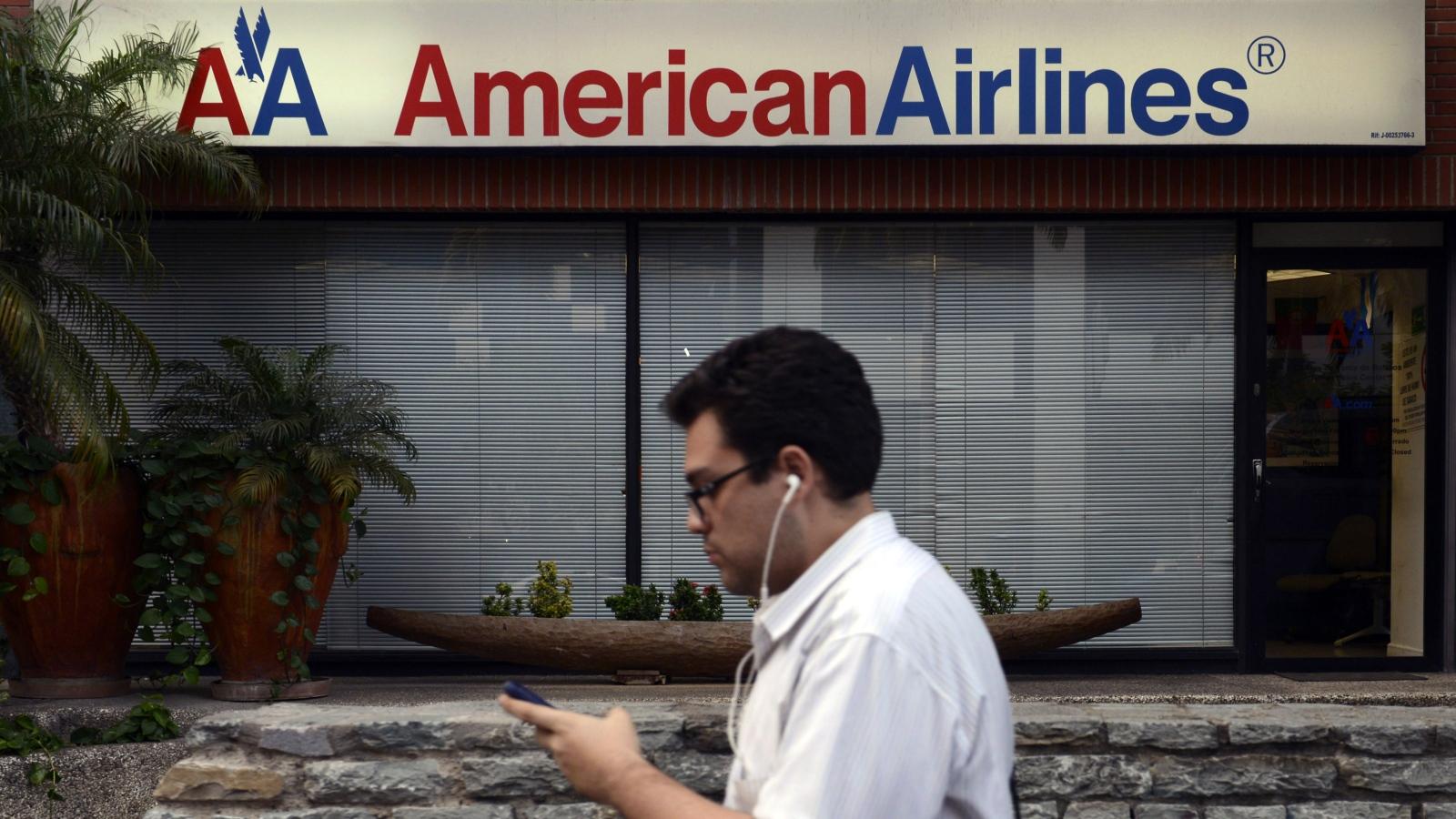 American Airlines suspende sus vuelos hacia y desde Venezuela
