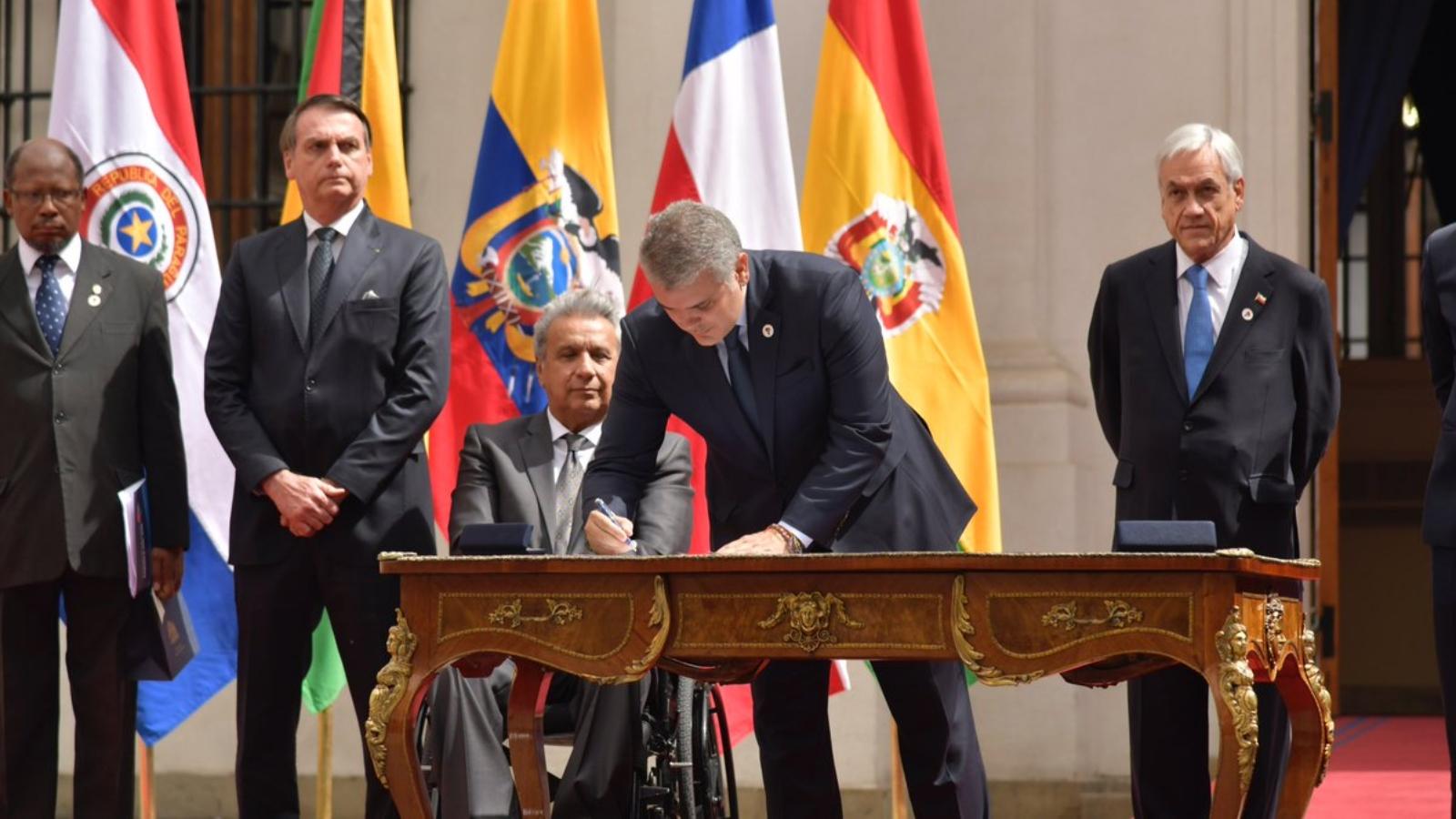 Nace Prosur, el nuevo bloque regional sin Venezuela