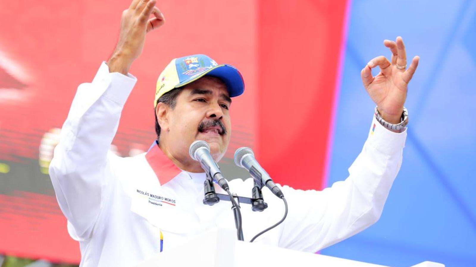 Maduro denuncia que incendio provocado generó nuevo apagón en Venezuela
