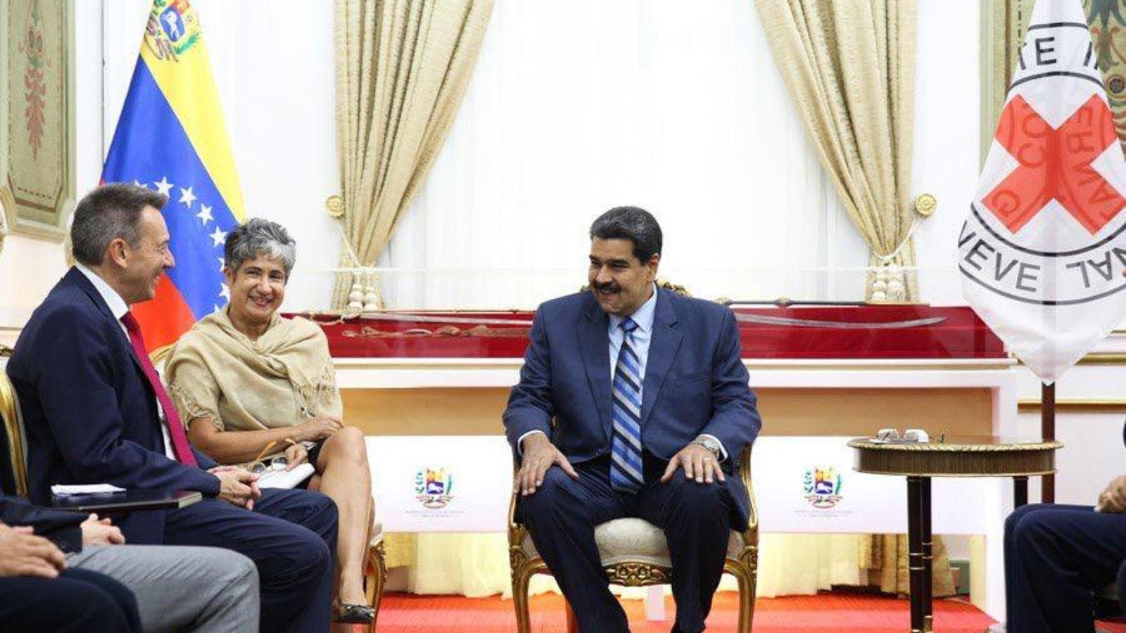 Maduro acuerda con la Cruz Roja el envío de ayuda humanitaria para Venezuela