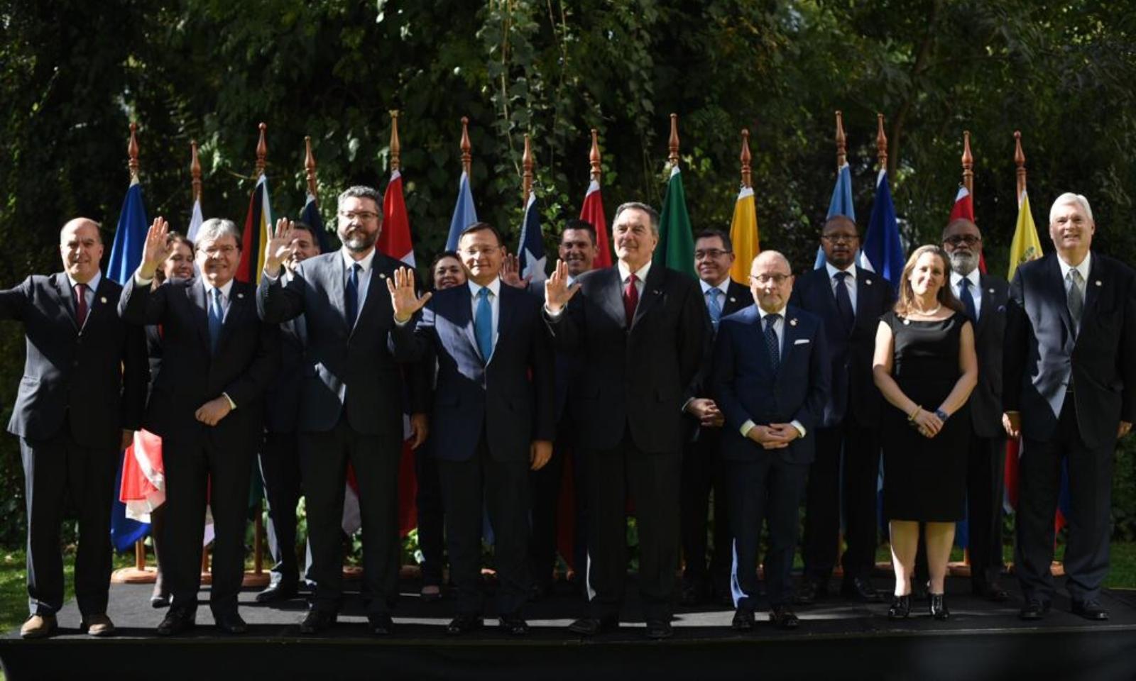 Grupo de Lima hace un llamado a la ONU para que intervenga ante la situación en Venezuela