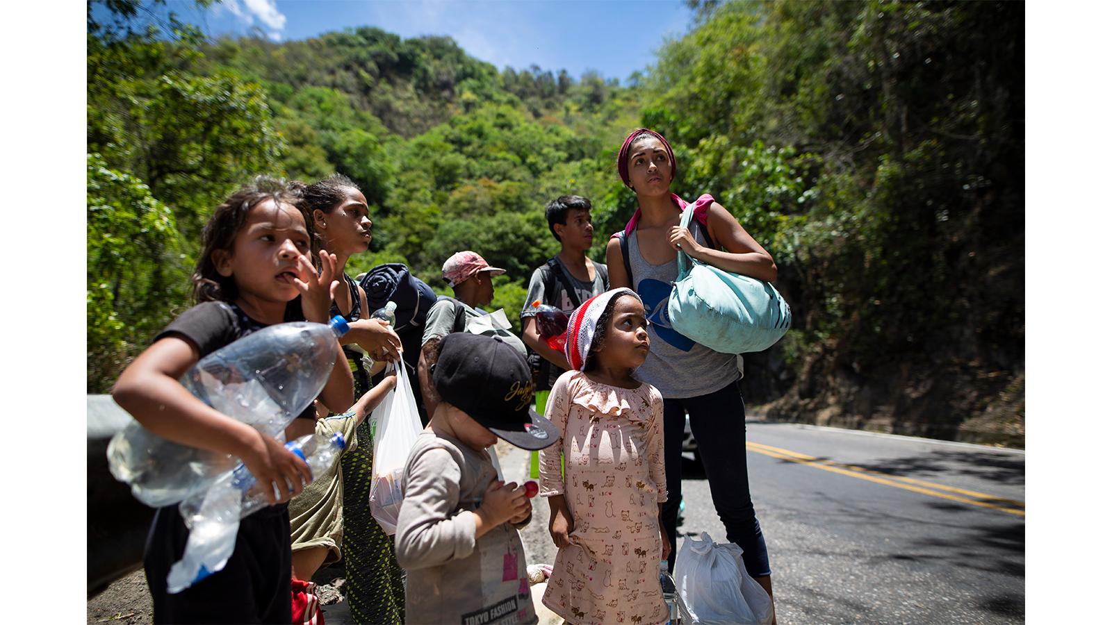 Las rutas migratorias: La gran amenaza de los derechos de los niños