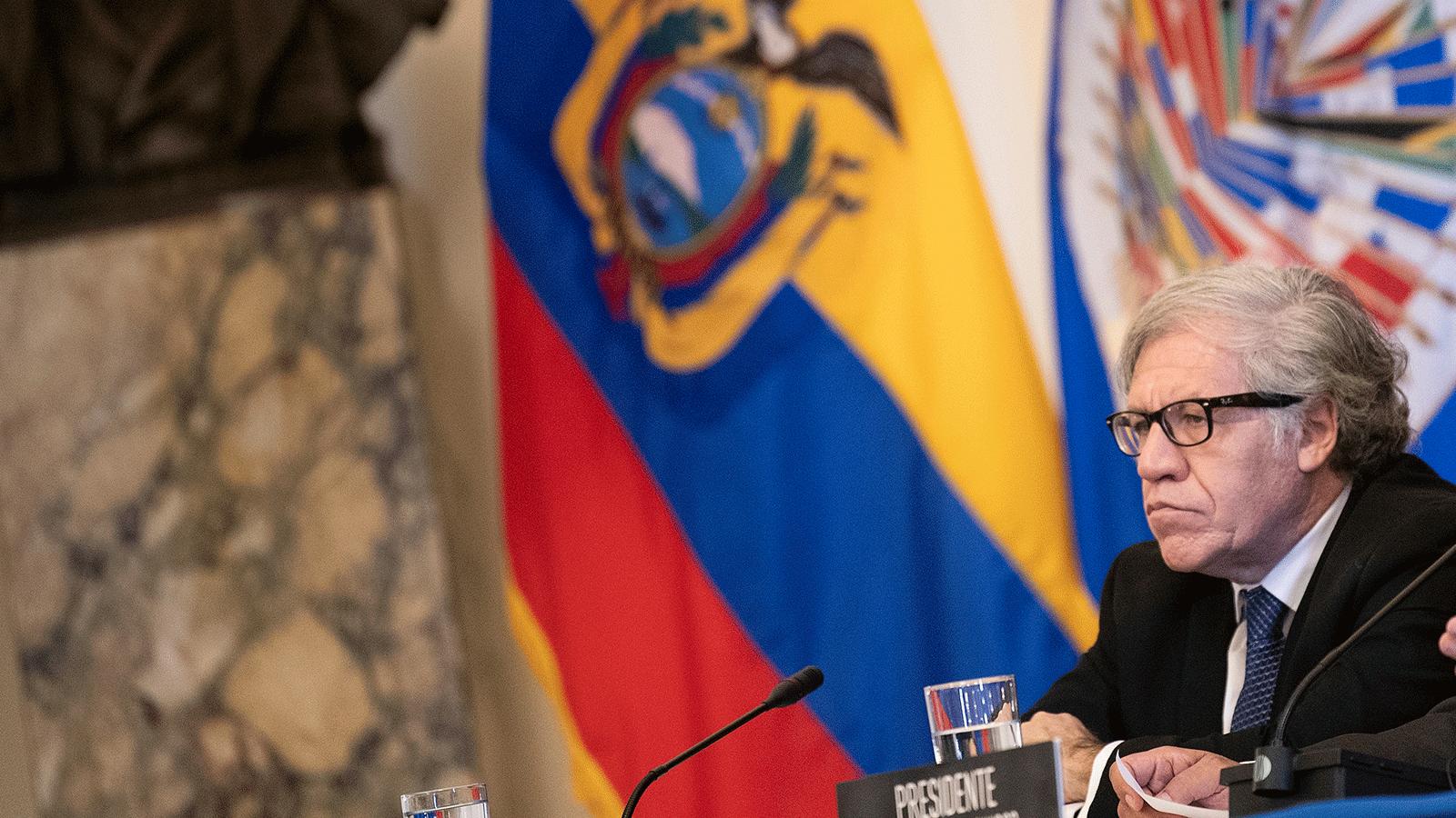 Luis Almagro pide más sanciones y un eventual uso de la fuerza en Venezuela