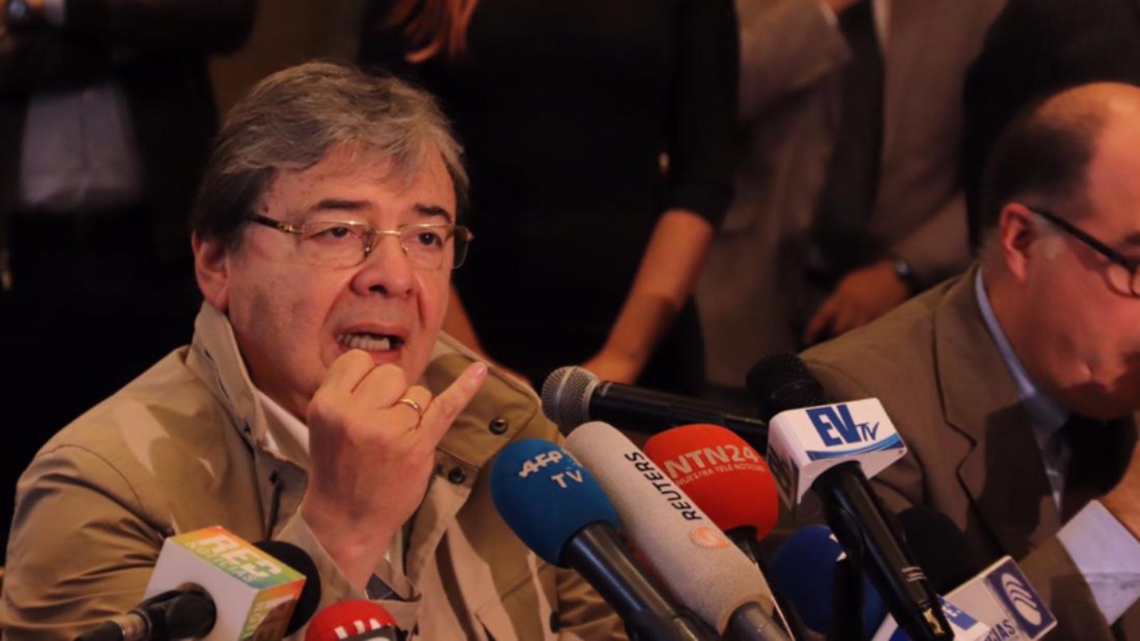 Los embajadores designados por Guaidó se reúnen por primera vez en Bogotá