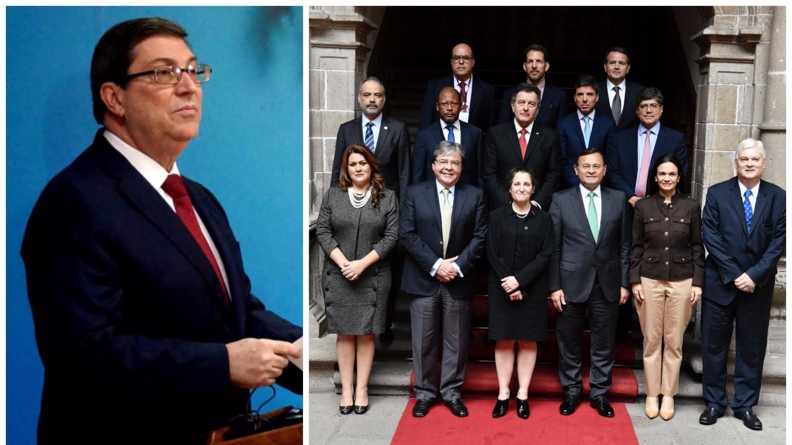 Cuba insiste en una solución negociada a la crisis de Venezuela