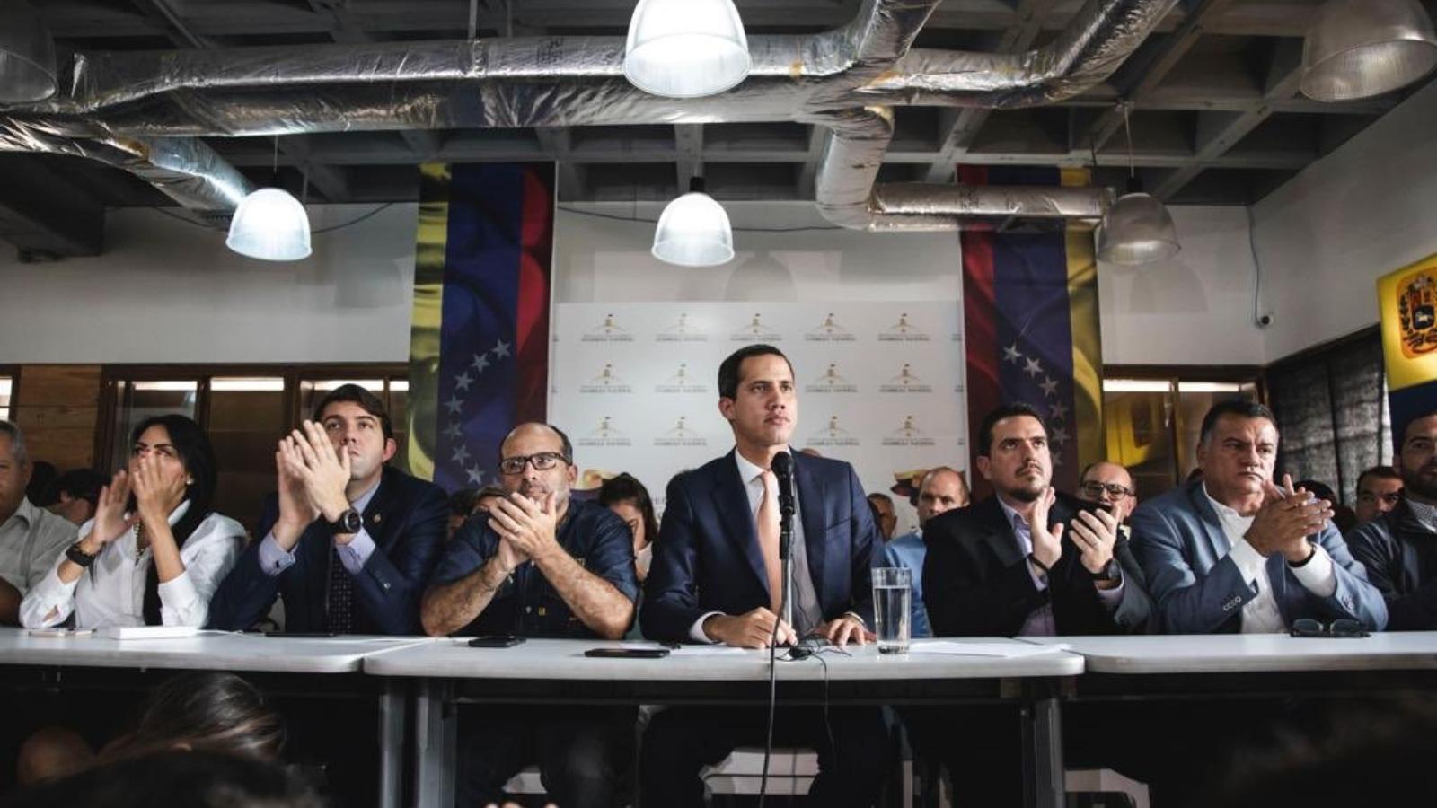 Guaidó denuncia que el oficialismo trata de cerrar el Parlamento venezolano