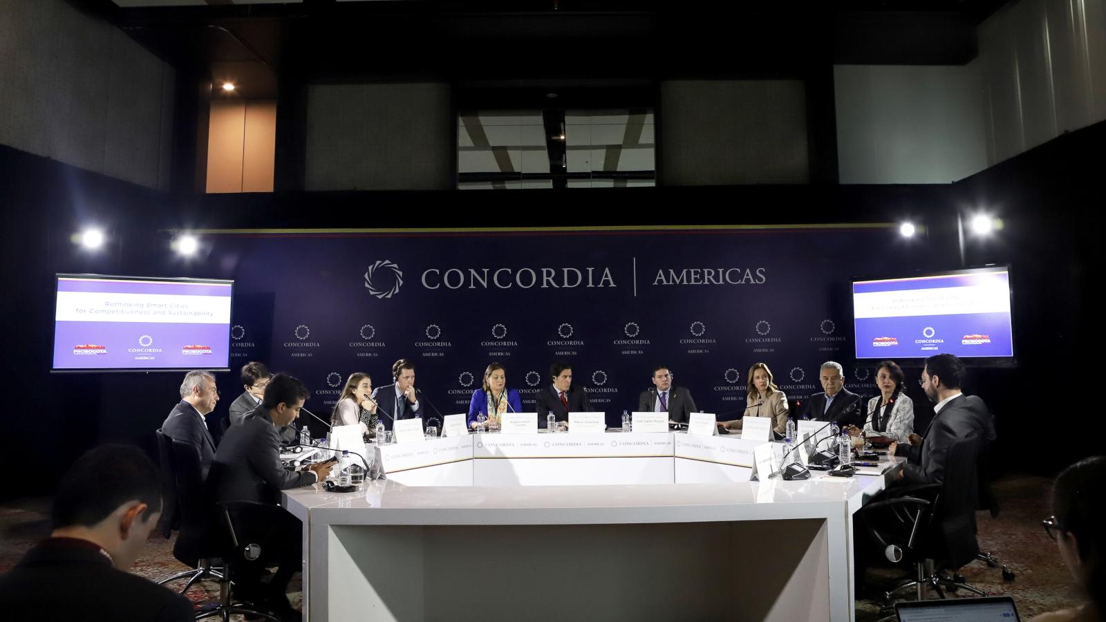 La Cumbre Concordia Summit llegó a Colombia