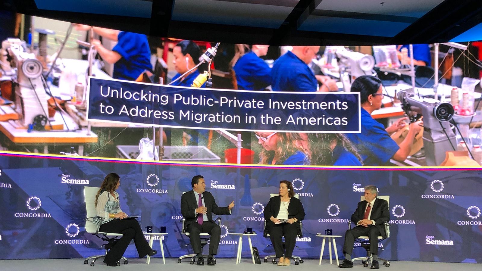 ¿Qué compromisos dejó la Cumbre Concordia Américas frente a la migración?