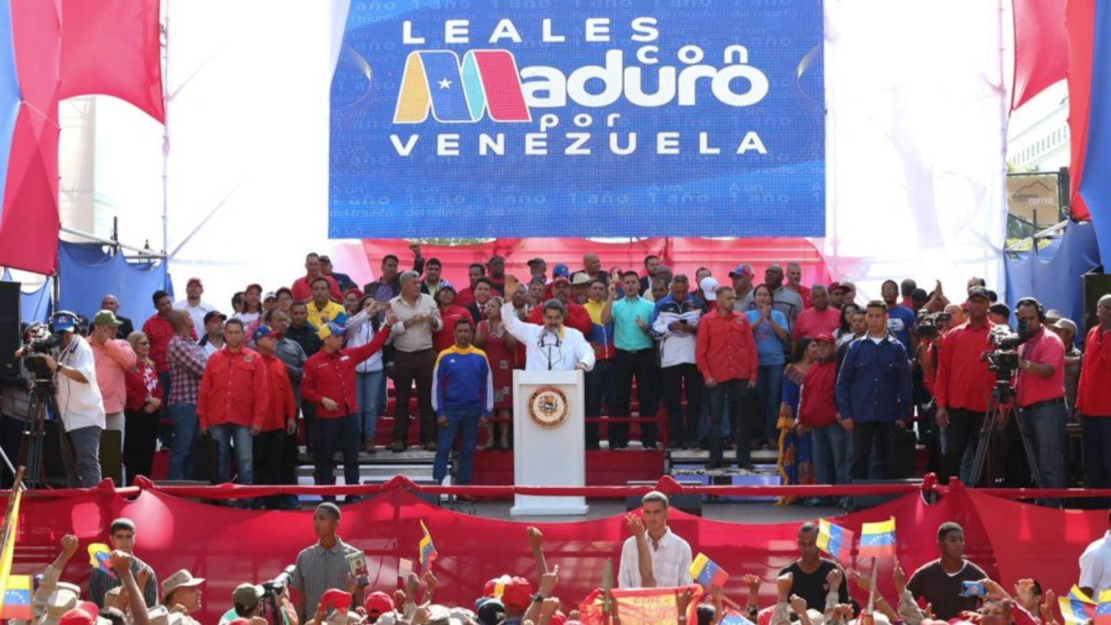Maduro ordena capturar a cualquier traidor en la fuerza armada