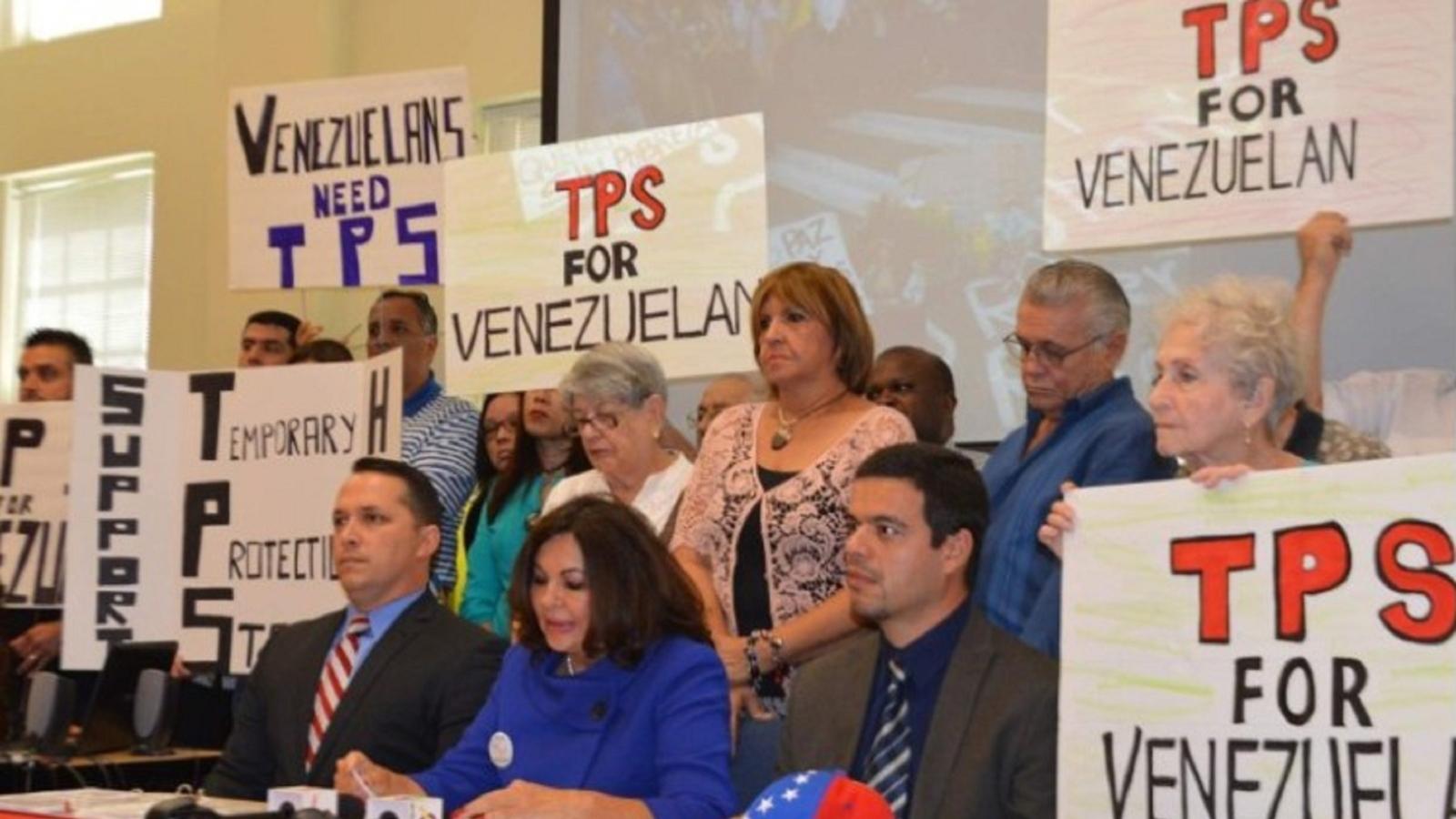 Proyecto Venezuela | Avanza ley en EE. UU para protección de venezolanos