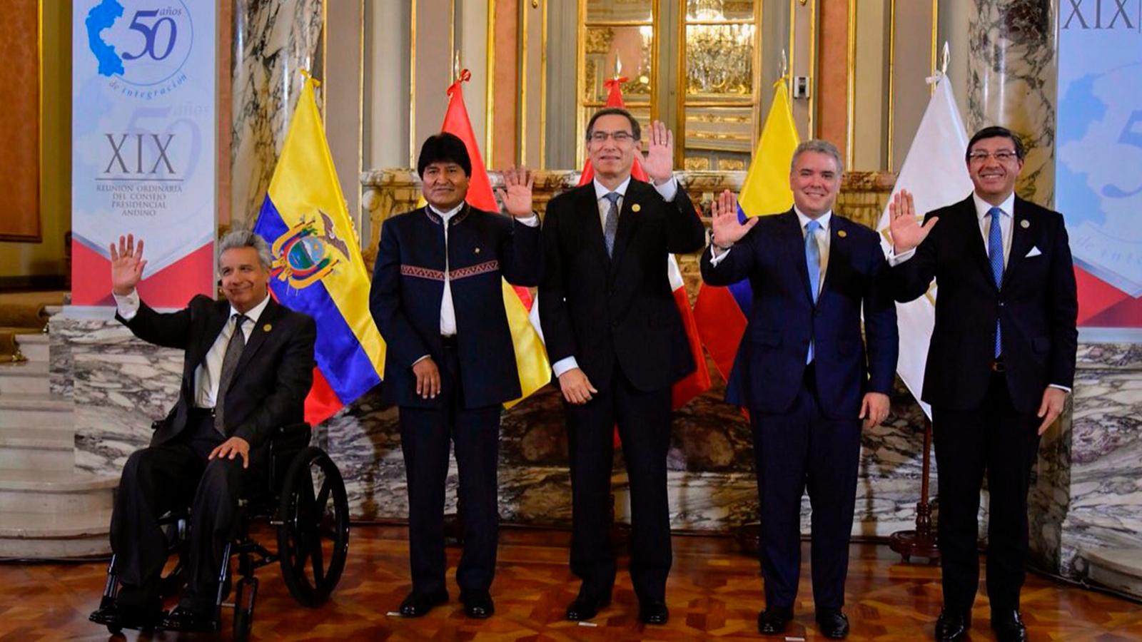 Comunidad Andina cierra cumbre sin definiciones sobre Venezuela