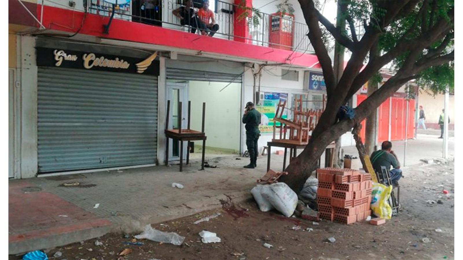 Explosión de una granada en frontera dejó catorce heridos