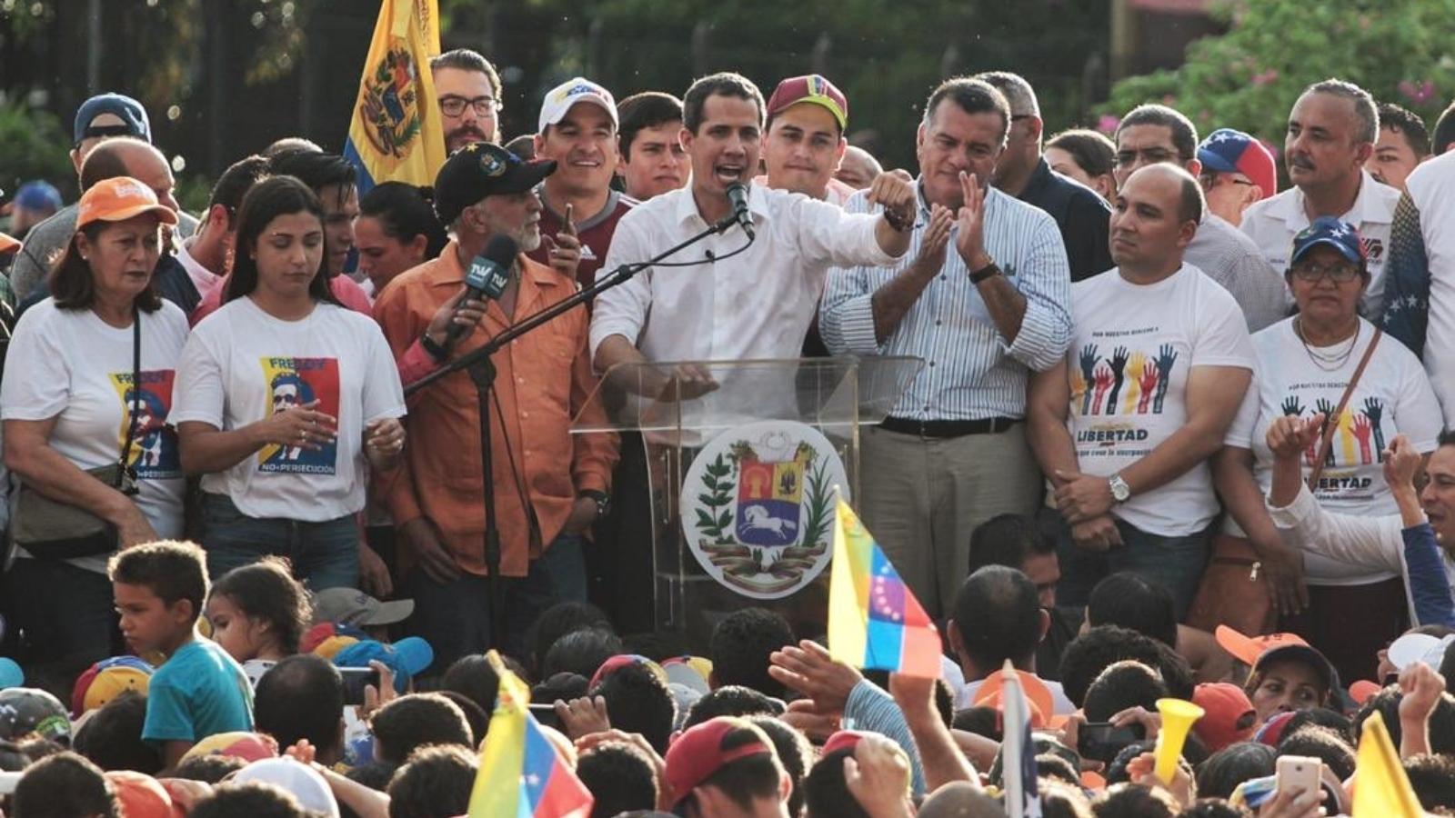 Guaidó dice que Maduro dejará el poder antes de fin de año