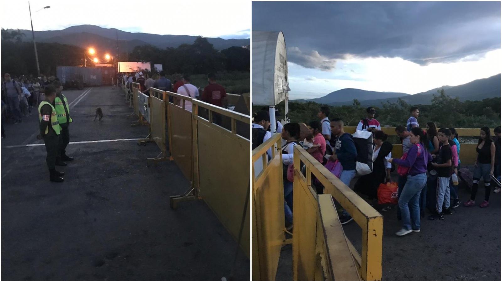 Autoridades reportan normalidad tras reapertura de la frontera