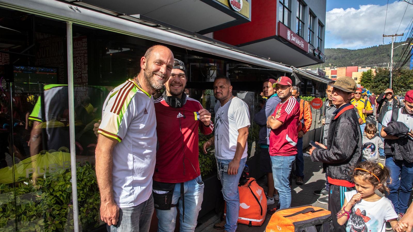 Así siguieron los venezolanos a su selección en la Copa América