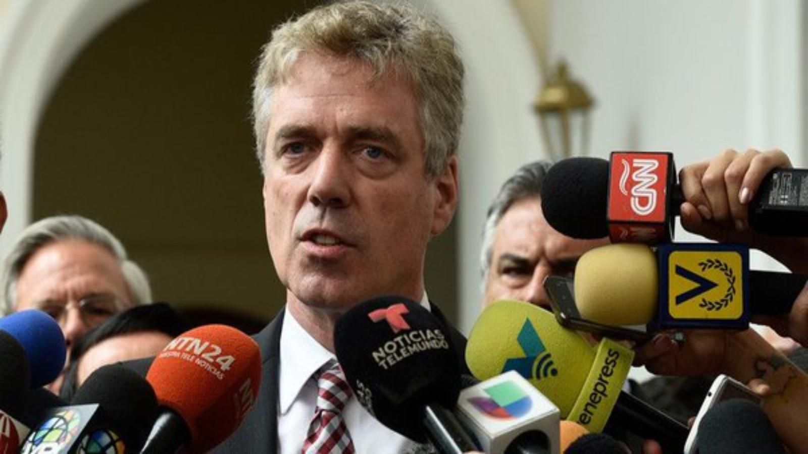 Gobierno venezolano anuncia retorno de embajador alemán expulsado en marzo