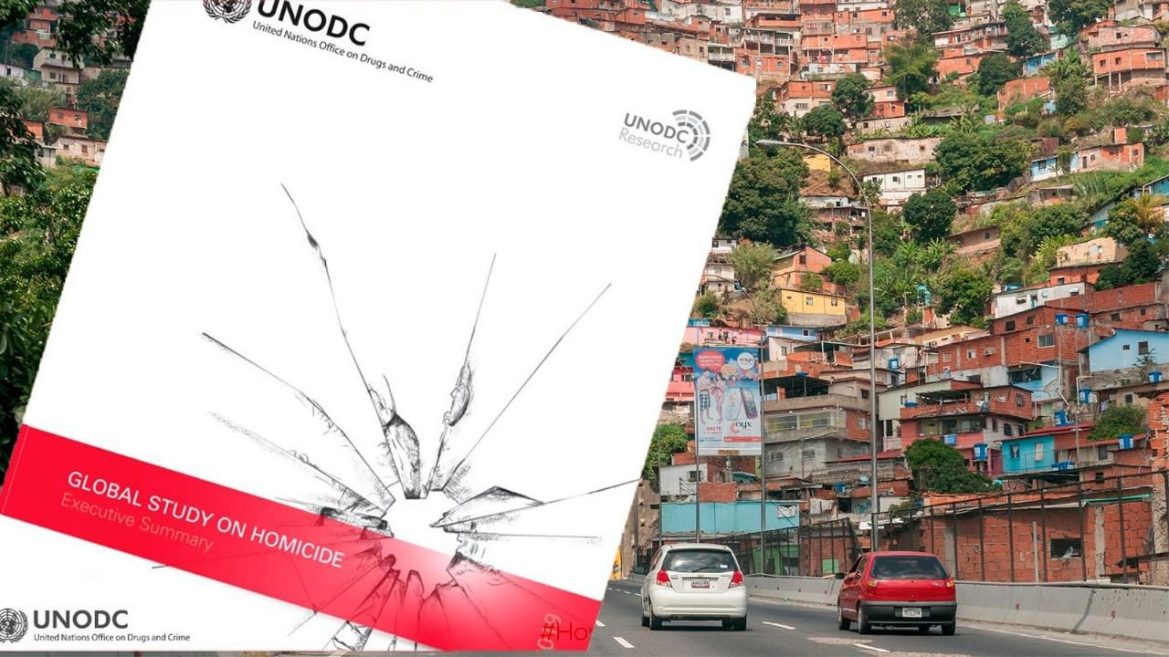 Venezuela, el segundo país más violento del continente según la ONU