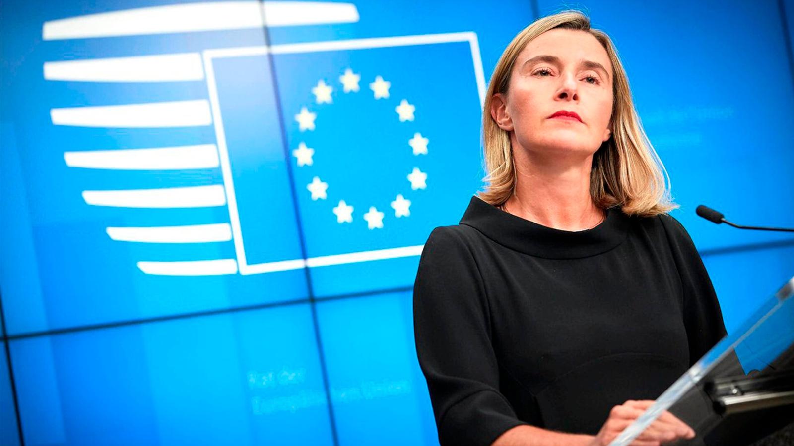 Unión Europea anuncia sanciones contra Venezuela si no hay resultados en diálogos