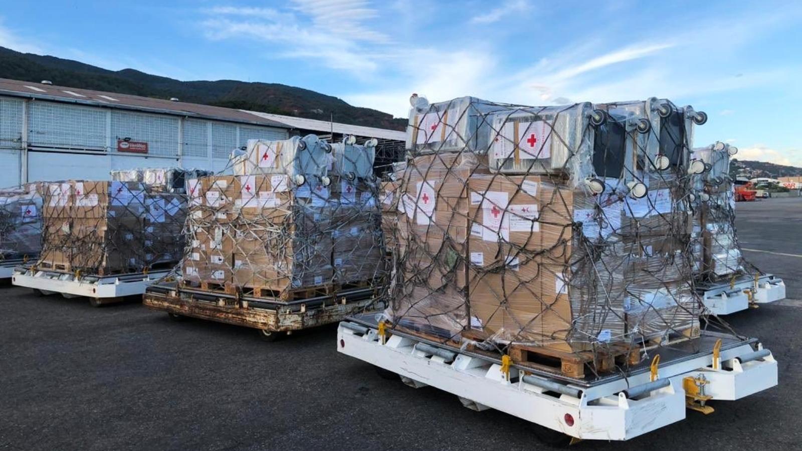 Así se distribuirá la ayuda humanitaria que Italia envió a Venezuela