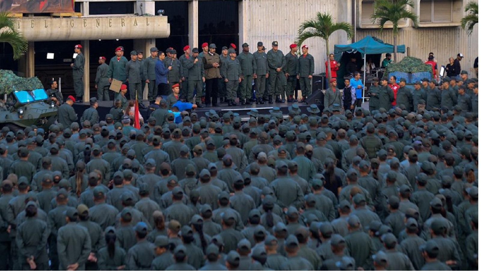 Militares dicen que en Venezuela no habrá golpe de Estado ni transición