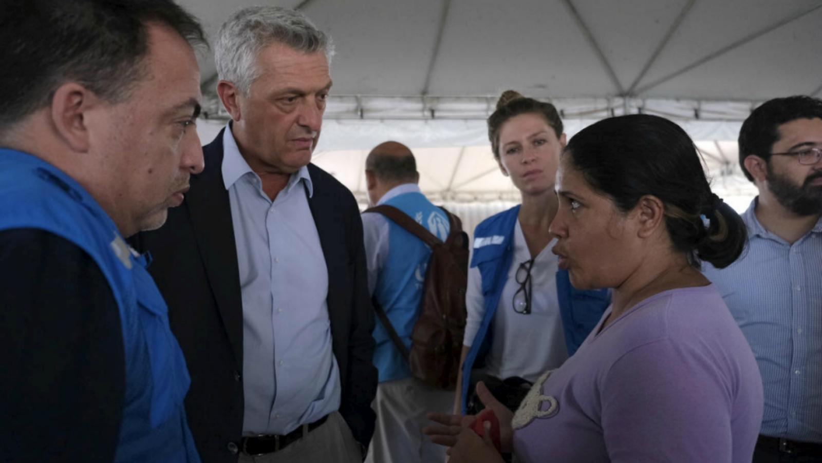 Acnur pide más apoyo internacional para las zonas que acogen migrantes venezolanos