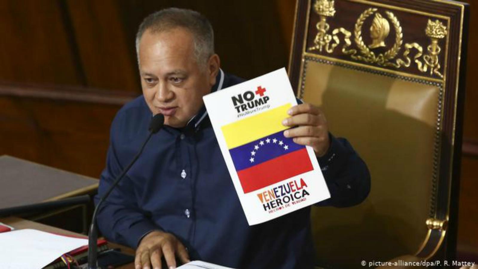 Diosdado Cabello en conversaciones secretas con EE.UU