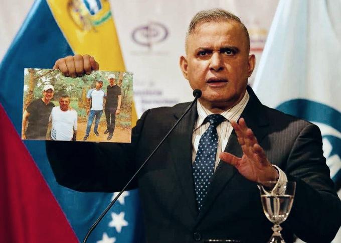 Fiscal venezolano investigará a Juan Guaidó por