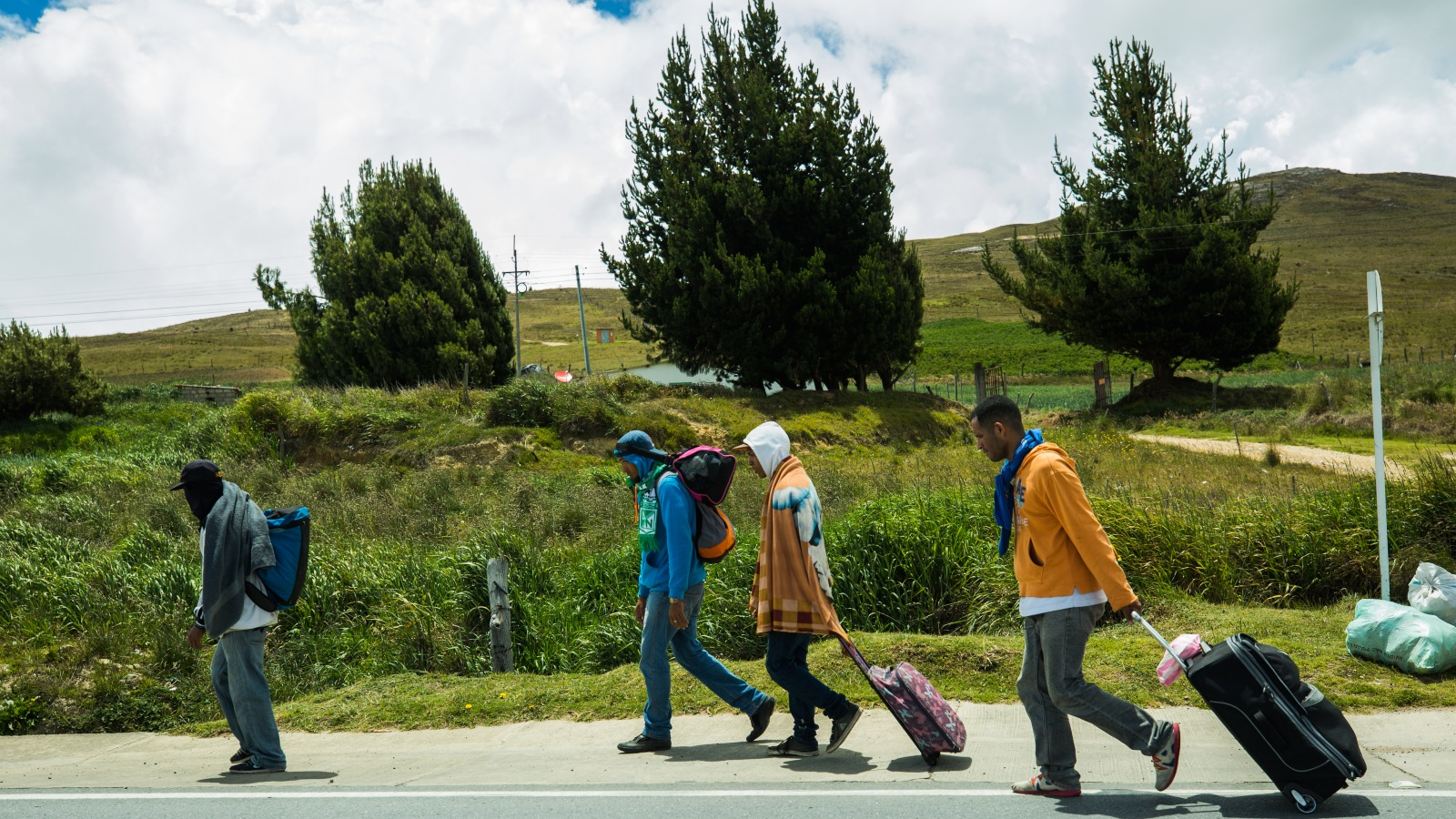 Así funcionan los albergues para migrantes en los páramos de los Santanderes