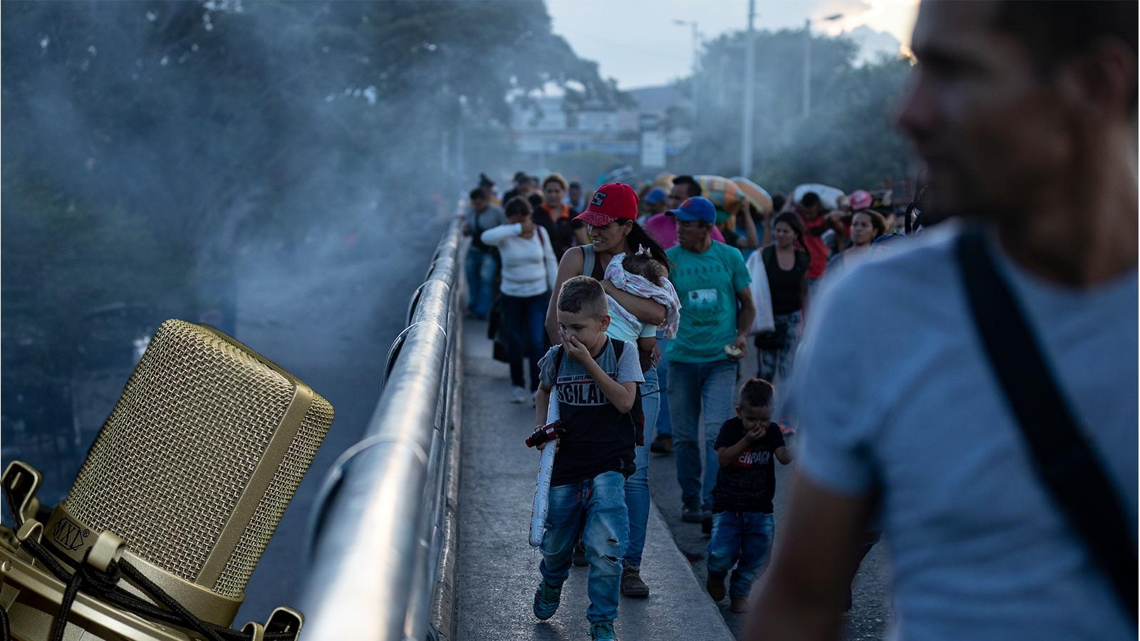 RADIO   La crisis venezolana a unos pasos de la frontera en Cúcuta