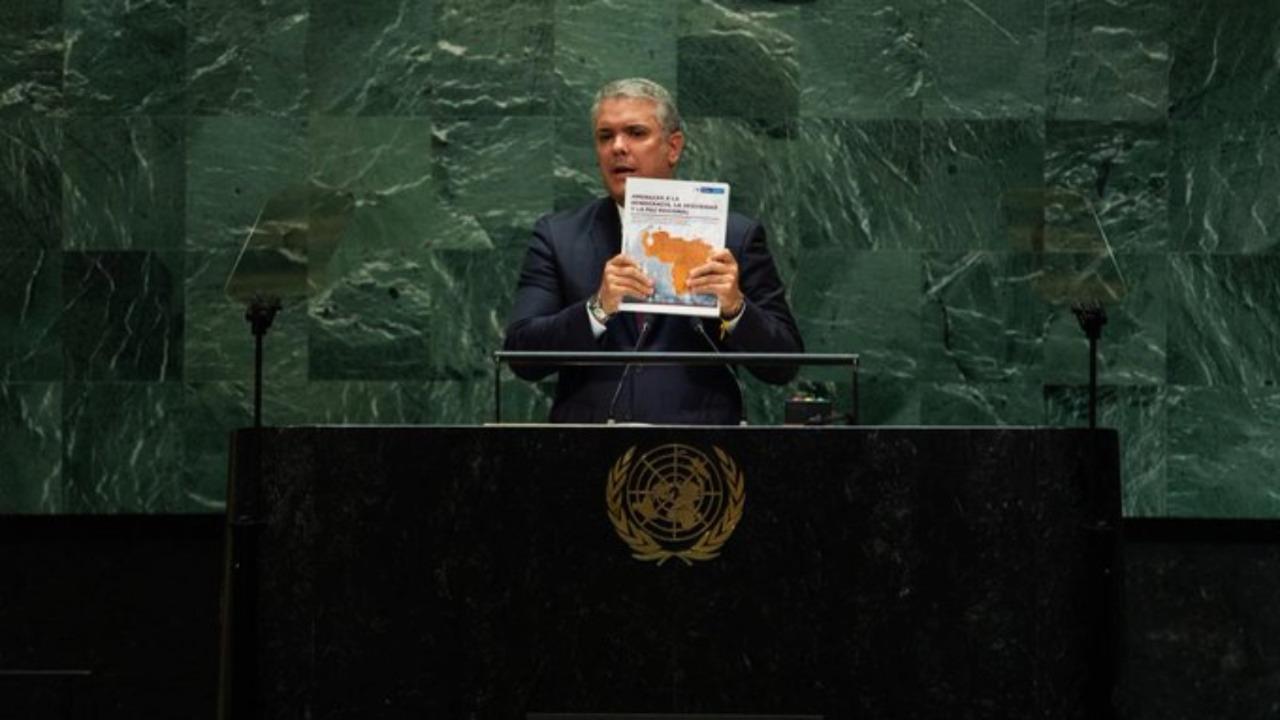 """Presidente Duque espera que misión en Venezuela genere """"sanciones al dictador"""