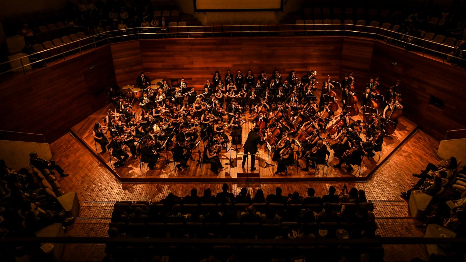 Venezolanos y colombianos unen fuerzas en la 'orquesta de la integración'