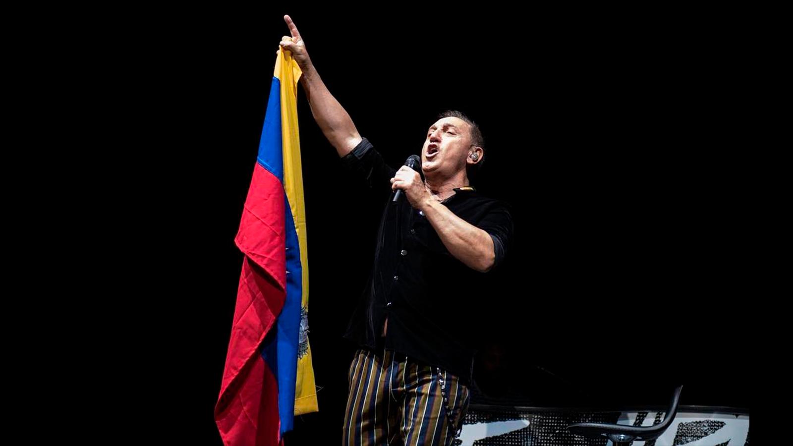 Franco de Vita pidió comprensión de los peruanos hacia los venezolanos