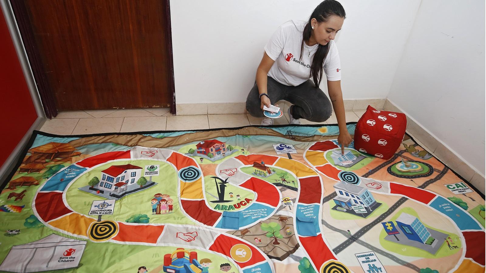 Jugar para salvar vidas: la estrategia para proteger a los niños en Arauca